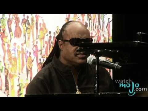 Stevie Wonder Pays Tribute To Michael Jackson