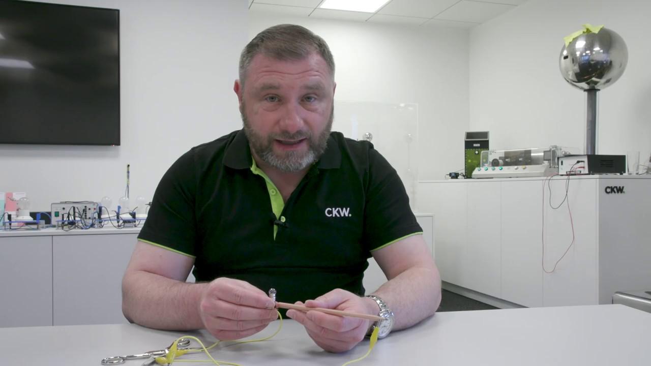 Strom durch den Bleistift   CKW