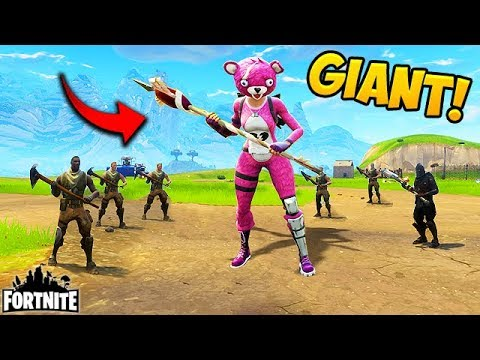WORLDS BIGGEST PLAYER? - Fortnite Funny Fails and WTF Moments! #108 (Daily Moments)