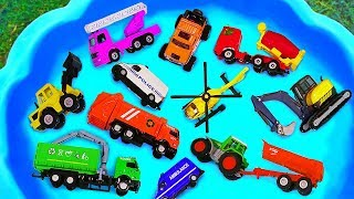 Toys Learning Name and Sounds Police cars, Fire Truck Toy