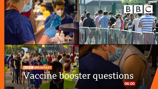 Covid vaccine: We need answers on autumn booster plan, say health leaders @BBC News live 🔴 BBC