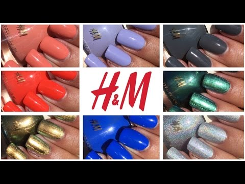 H&M Nail Polish Haul | The Polished Pursuit