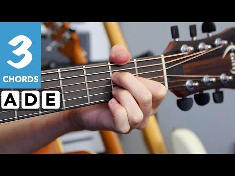 Bob Marley - Three Little Birds Guitar Lesson - 3 Chord Guitar Songs for Beginners