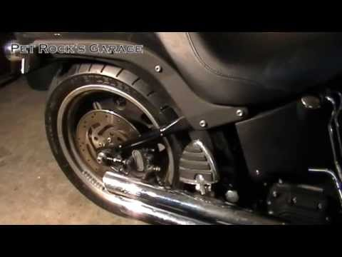 How To Remove & Install Rear Wheel - Harley Davidson Softail