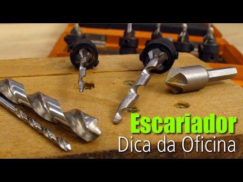 Escariador - Dica #DIY • Oficina de Casa