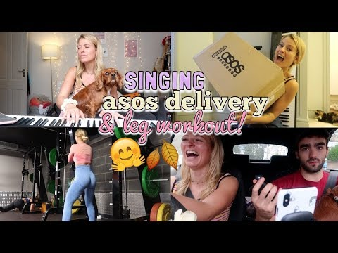 SINGING, UNBOX MY ASOS DELIVERY W ME & INTENSE BOOTY WORKOUT