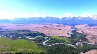 Горный Алтай, Северо-Чуйский хребет, Чуйская и Курайская степь