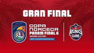 Rep. Dominicana  vs Mexico, Copa Norceca Panam Final 6. 19-9-21.