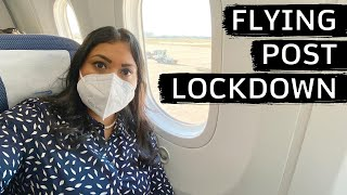 POST LOCKDOWN FLIGHT FROM LONDON TO AMSTERDAM | Flying during the Pandemic | AllAboutAnika