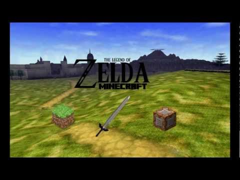 The Legend of Zelda: Minecraft (Adventure Map) Minecraft Project