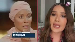 Salma Hayek habló sobre los efectos de la menopausia en su cuerpo