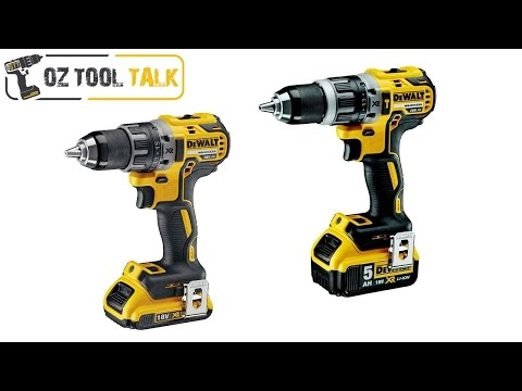 Dewalt DCD796 & DCD791 Compact Hammer Drill & Drill Driver review