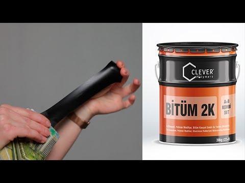 Двухкомпонентная битумная гидроизоляция Clever Bitum 2K youtube