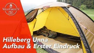 Hilleberg Unna ⛺️ Aufbau & erster Eindruck vom 1 Personen Zelt - 4 Season Backpacking Tent