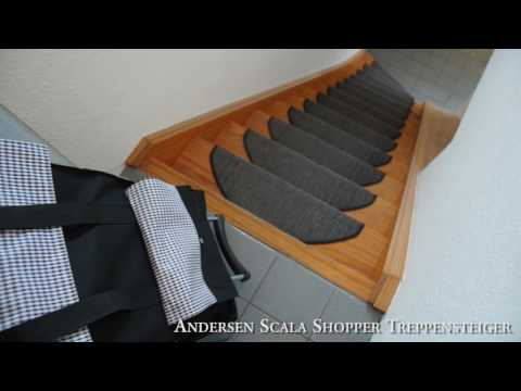 Mein Einkaufstrolley - Der große Treppensteiger Test