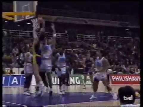 Acciones de Arvydas Sabonis A.C.B. temporada 1991/1992 en el Forum Filatélico Valladolid