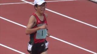 群馬県高校新人陸上2017男子5000mW決勝