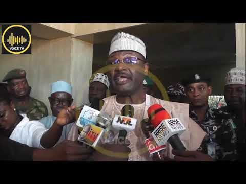 INEC Chairman Storms Kogi Ahead Of 2019 Guber