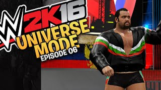 WWE 2K16 Universe Mode: Episode 06 - Monday Night Raw (Xbox One / PS4 Gameplay)