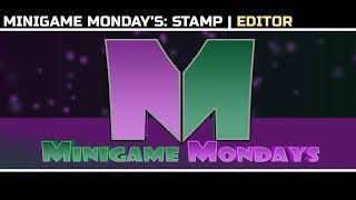 MiniGame Mondays Stamp