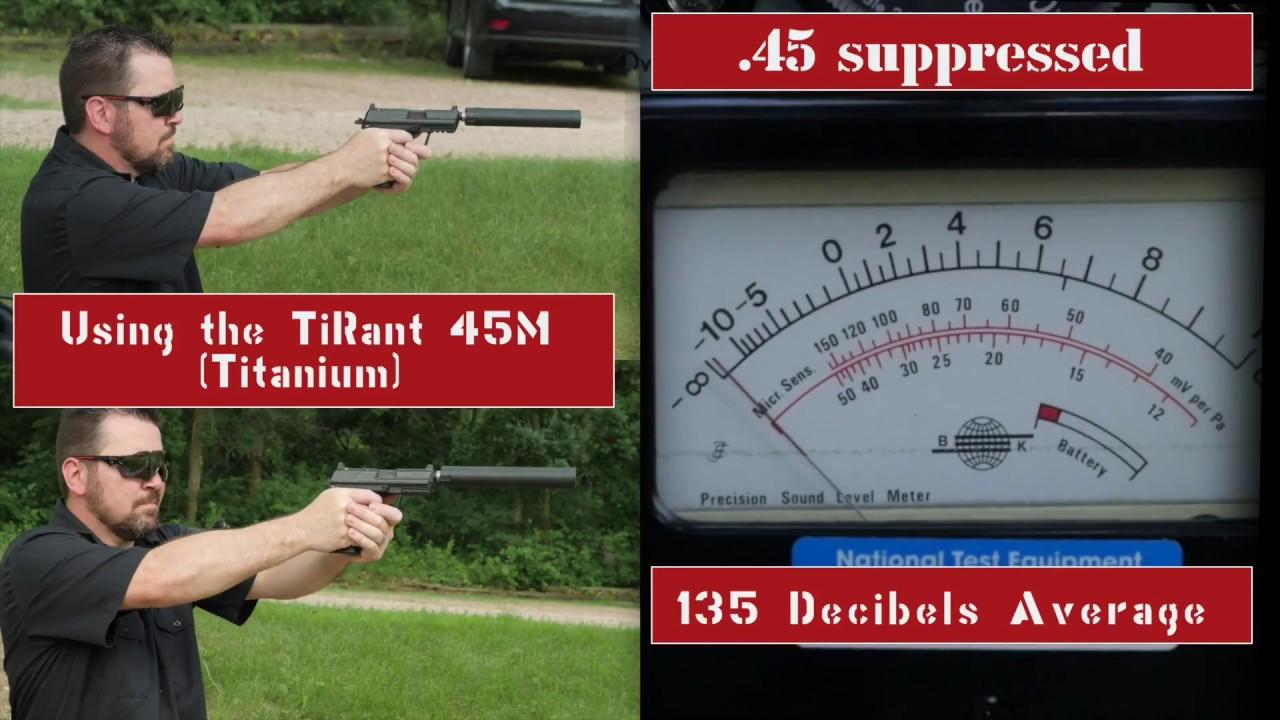 45 Silencer Range Testing Dakota Silencer Video