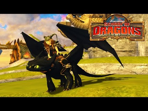 How to Train Your Dragon : School of Dragons #3 'A New Dragon Trainer'