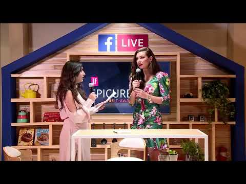 Living Foodz LIVE from LFEpicureanGuildAwards 2019 with Sarah Todd