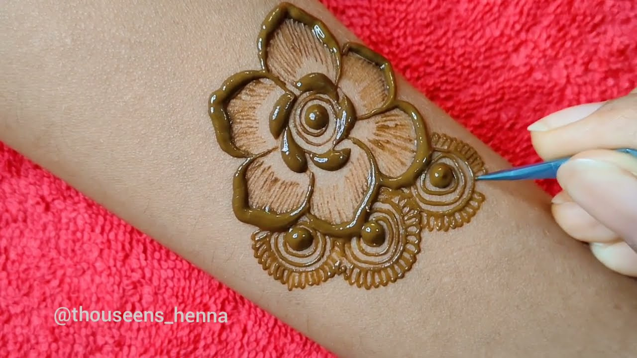 arabic mehndi design full hand by thouseens henna