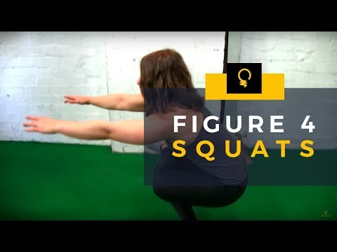 5EW Exercises: Figure 4 Squat