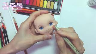 TUTORIAL Doll : Doll Face Painting
