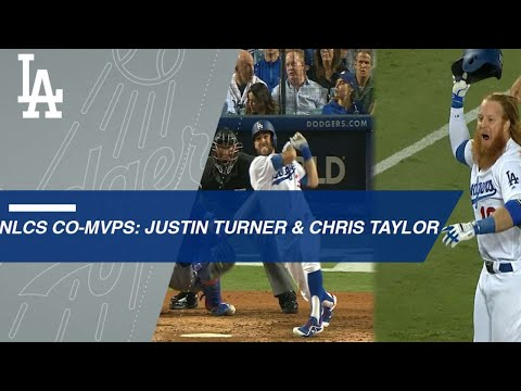 Chris Taylor and Justin Turner named co-MVPs of NLCS