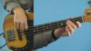 Beginner Bass Guitar Lesson: Funk Rock in E
