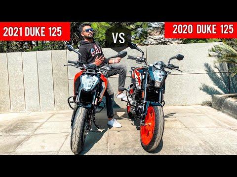 2021 KTM Duke 125 BS6 vs 2020 KTM Duke 125 - What has changed?