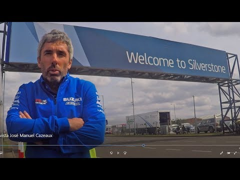 SUZUKI ECSTAR BRITISH GP PREVIEW – JOSE MANUEL CAZEAUX