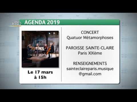 Agenda du 1er mars 2019