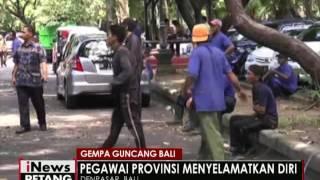 Gempa 47SR Guncang Bali Pegawai Pemprov Selamatkan Diri  INews Petang 09/06