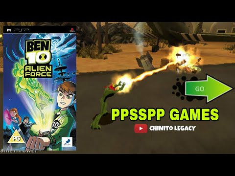 Ben 10 Alien Force PPSSPP Game Download for Android