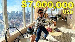 Crazy Rich USD$7,000,000 New York SUPER Apartment!! | (傻眼系列!)紐約七百萬美金的超級公寓究竟是怎樣的??