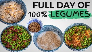 FULL DAY OF EATING ONLY LEGUMES