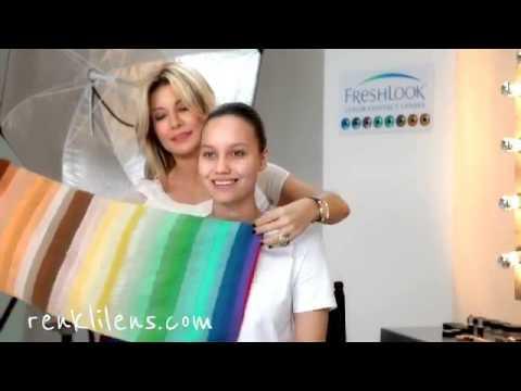 Sonbahar Kadınına Uygun Makyaj Önerileri ve Renkli Kontakt Lens Seçimi