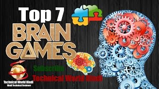 Top 7 Best Brain Android Games 2016 | 2017  | MUST PLAY #4