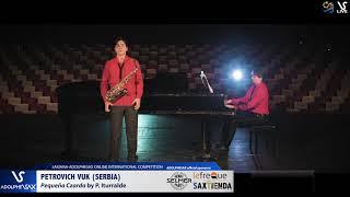 Petrovich VUK plays Pequeña Czarda by P. Iturralde #adolphesax