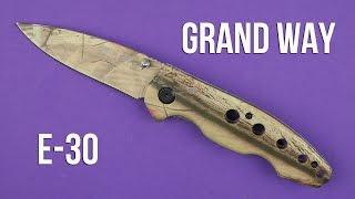 Grand Way E-30 - відео 1
