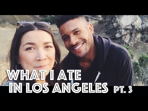 WHAT I ATE IN LOS ANGELES (VEGAN) PT. 3  + XMAS, THE INTEGRATRON + MORE