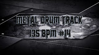Easy Metal Drum Track 135 BPM | Preset 2.0 (HQ,HD)