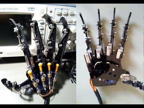 Kit de Mão robótica controlada com Arduino - Banggood