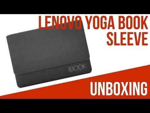 Lenovo Yoga Book Sleeve - UNBOXING - Deutsch