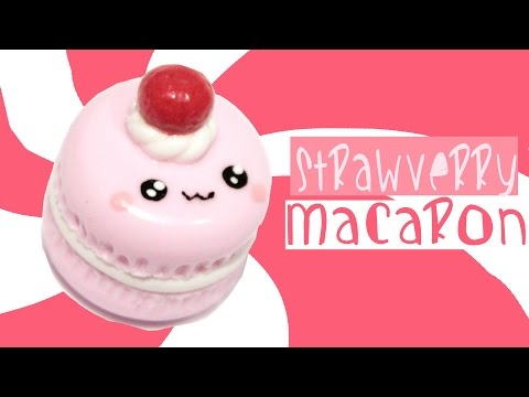 ^__^ Strawberry Macaron! Kawaii Friday 187