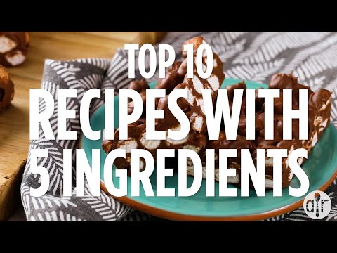 Top 10 Recipes With Only 5 Ingredients | Quick & Easy Recipes | Allrecipes.com