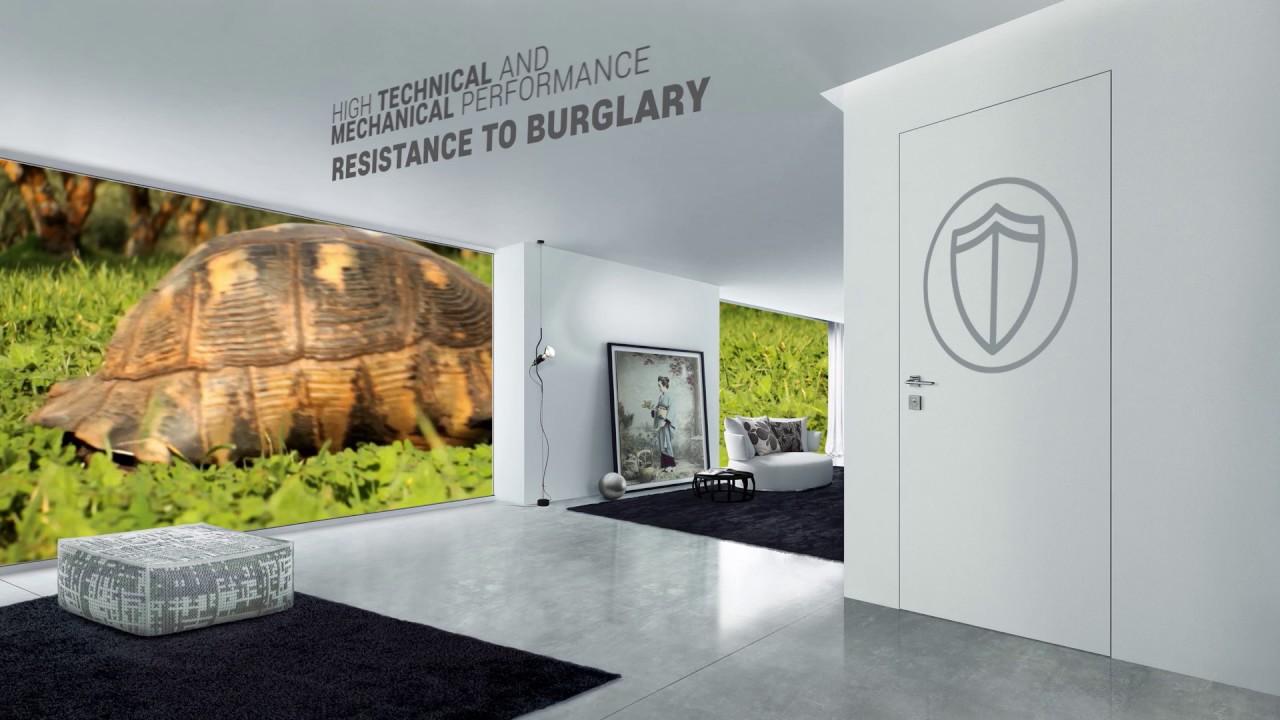 Effepi Security Doors - Spot Major - Armoured doors with fiberglass and carbon -
